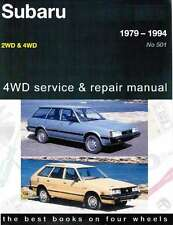 Subaru 1600 1800 2&4WD 1979- 1994 Gregorys Owners Service Repair Workshop Manual