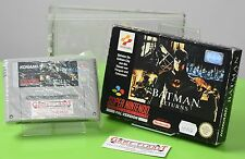 Batman Returns Super Nintendo SNES OVP Sammlung