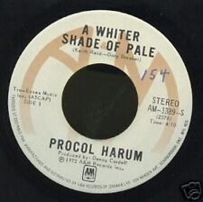 PROCOL HARUM 45 TOURS CANADA A WHITER SHADE OF PALE