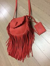 Ralph Lauren Polo Fringe Cross Body Bag