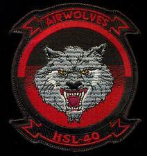 USAF HSL-40 Patch T&B