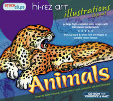 Hi-Rez Illustrations Animals  Royalty Free High Resolution  PC and MAC Clip Art
