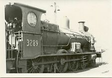 6A179 RP 1970 NEW SOUTH WALES GOVERNMENT RAILWAY LOCO #3289 AT ENFIELD AUSTRALIA