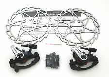 TRP Spyre Alloy Mechanical Disc Brake Set Front & Rear Include 160mm rotor,2 set