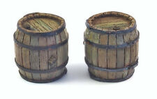 1/35 Scale model kit Wooden Barrels (2 pcs.) from Matho Models