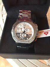 BRAND NEW Swiss Legend Mens 10538-GM-22S Scubador Chronograph Watch