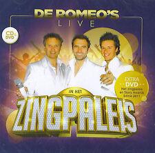 De Romeo's : Live in het Zingpaleis (CD + DVD)