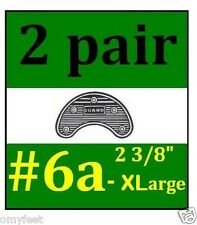 2p Guard Shoe Boots Heel Toe Plates Taps Nylon Shoe Sole Protection 6A XL 2 3/8""