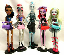 Monster High Dance Class Gil Rochelle Lagoona Robecca Operetta 5 Pack Dolls