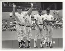 Mickey Mantle Whitey Ford Ron Guidry Reggie Jackson Vintage Yankee Photo