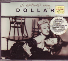 RARE Dollar It's Natures Way silver CD single (1988) PWL Made In W.Germany