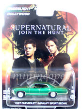 GREENLIGHT SUPERNATURAL 1967 CHEVROLET IMPALA 1/64 44692 NEW GREEN MACHINE