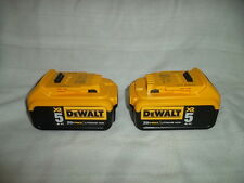 TWO DeWALT DCB205 20V Max XR 5 Amp Battery Packs