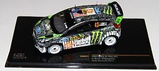 Ixo RAM477 1/43 Ford Fiesta WRC Germany Rally 2011 Ken Block RARE