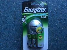Energizer Charger with 4 x AA Rechargeable Batteries AA or AAA 1300mAh LR6 LR03