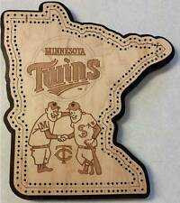 Minnesota Twins Cribbage Board