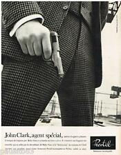 PUBLICITE ADVERTISING 105  1965   PRESTIL  fermetures éclair pantalon JOHN CLARK