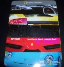 Megafactories Super Cars (Australia Region 4) Steelbook DVD – Like New