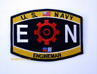 US NAVY ENGINEMAN EN RATING HAT PATCH USS PIN UP USN GEARS ENLISTED CHIEF GIFT