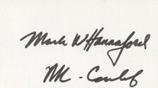 MARK W. HANNAFORD - SIGNATURE(S)