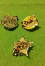 Disneyland theme park lot of 3 pins