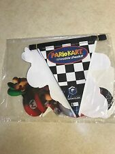 Mario Kart Double Dash Gamecube Nintendo STORE PROMO Window/Wall DISPLAY Set NEW