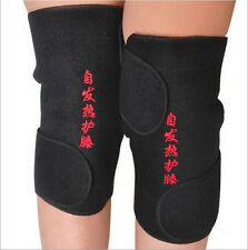 1Pair Self-heating Kneepad Non-Magnetic Therapy Knee Support Belt Knee Massager
