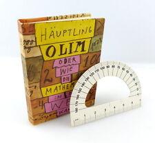#e3176 Minibuch: Häupling Olim / wie die Mathematik... + original Winkelmesser