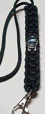 Philadelphia Eagles Handmade Paracord Lanyard OR Deluxe Key Chain OR Bracelet