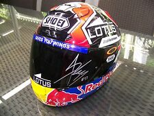 MARC MARQUEZ Signed Shoei X-Twelve Helmet - MotoGP World Champion RARE