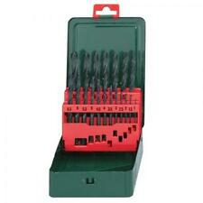 METABO 6.27151 HSS-R 19 PIECE DRILL BIT SET METAL/PLASTIC/WOOD