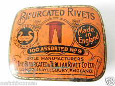 SUPER VINTAGE TIN BIFURCATED RIVETS AYLESBURY BRAND + CONTENTS (AS SHOWN) CB1771