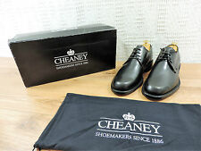 New church's Cheaney Jules hommes 'noires à lacets chaussures uk 6 f - 7 f ue 40 f