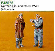 Czech Master 1/48 German Pilot & Officer WWI # F48025