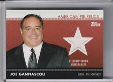 2011 TOPPS #APR7 JOE GANNASCOLI SOPRANOS VITO SPATAFORE RELIC 2026B
