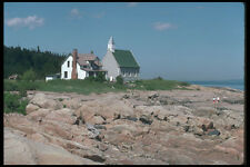 262032 Rocky Shores Port au Persil Charlevoix A4 Photo Print