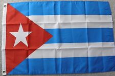 CUBA CUBAN COUNTRY INTERNATIONAL STATE POLYESTER NYLON FLAG 2 X 3 FEET