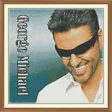 George Michael 1 CROSS STITCH CHART 12.0 x 12.0 Inches