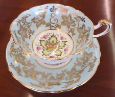 Vintage Paragon First Anniversary of Coronation of Queen Elizabeth II Tea Cup
