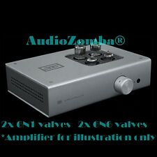 AMPLIFICATORE audio cuffie Schiit 6n1 6n6 VALVOLA TUBE UPGRADE UK STOCK Valhalla 2