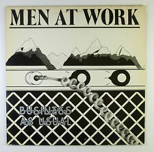 """12"""" LP - Men At Work - Business As Usual - B4741 - washed & cleaned"""