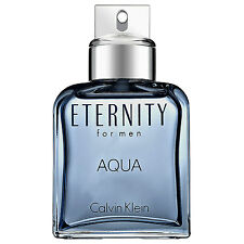 ETERNITY AQUA By Calvin Klein For Men COLOGNE SPRAY 3.4 OZ/ 100 ML NEW UNBOX !