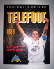 TELEFOOT 1989 / ROGER ZABEL - THIERRY ROLAND