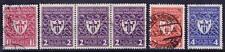 DR Mi Nr. 199 - 202, 200 3er Str., gest. Karlsruhe etc, Gewerbeschau 1922, used
