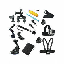 Chest Head Mount Monopod Pole Accessories kit GoPro SJ4000 Camera Hero 1 2 3 4