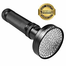 KOBRA UV Handheld 100 LED Black Light Flashlight - For Home & Hotel Inspection,