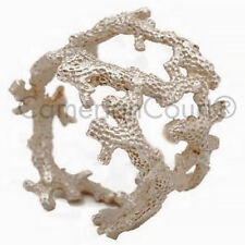 Coral Napkin Rings by Michael Michaud - Silver Seasons Table Art #9486SC