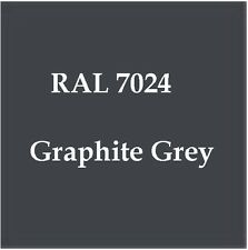 RAL 7024 HIGH QUALITY CELLULOSE PAINT GRAPHITE GREY 2.5L FREE Strainer & TackRag
