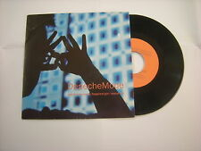 "DEPECHE MODE - WORLD IN MY EYES - 7"" VINYL UK 1990 BONG20 LARGE HOLE"