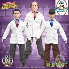 The Three Stooges 8 Inch Figures: Set of all 3 Fuelin' Around